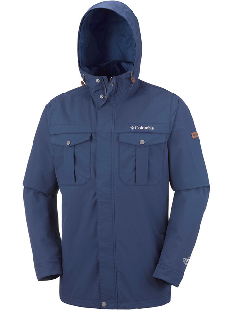 Columbia Weiland Crossing Jacket Men collegiate navy
